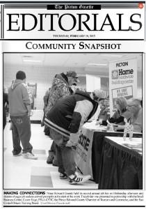 job fair gazette
